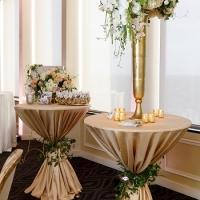 Citrus Club Wedding with Blush Pink Uplighting