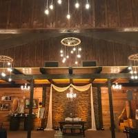 Club Lake Plantation with Amber Uplighting