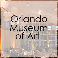 Orlando Museum of Art Wedding Lighting Gallery