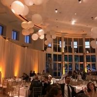 Amber Uplighting - Orlando Museum of Art Wedding