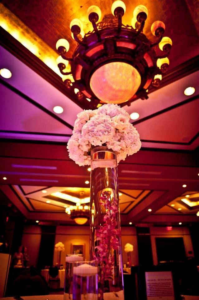 grand bohemian wedding - orlando wedding uplighting - purple uplighting - orlando wedding dj - our dj rocks