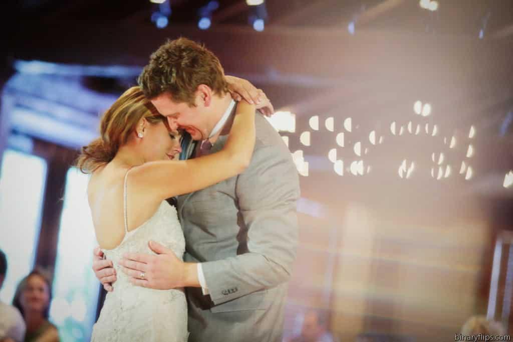 Orlando Wedding DJ - orlando wedding Uplighting - Dubsdread Ballroom wedding - our dj rocks