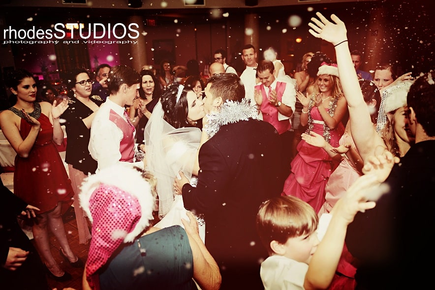 orlando wedding dj - snow effect