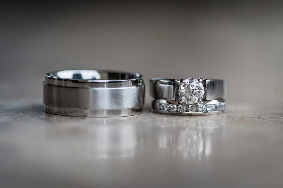 Wedding bands- Bride and grooms