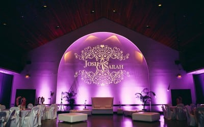 Orlando Wedding DJ at Winter Park Civic Center – Sarah + Josh