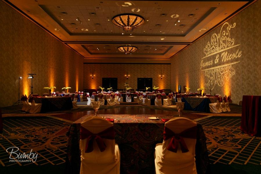 Amber Uplighting - Wyndham Orlando Resort