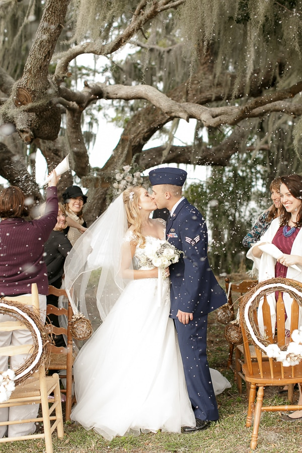 Orlando Wedding DJ - Southern Weddings Feature - Cozy Winter Themed