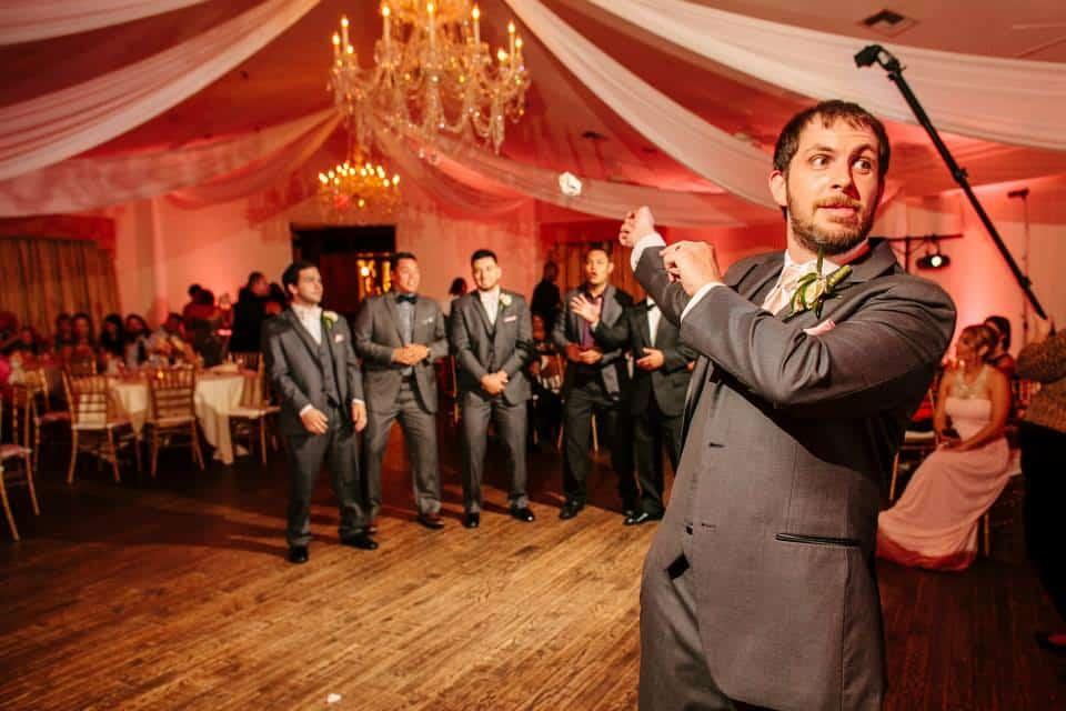 Highland Manor Wedding Orlando - Wedding DJ and Lighting Highland Manor Wedding  - Pink Uplighting - Cade + Tessi