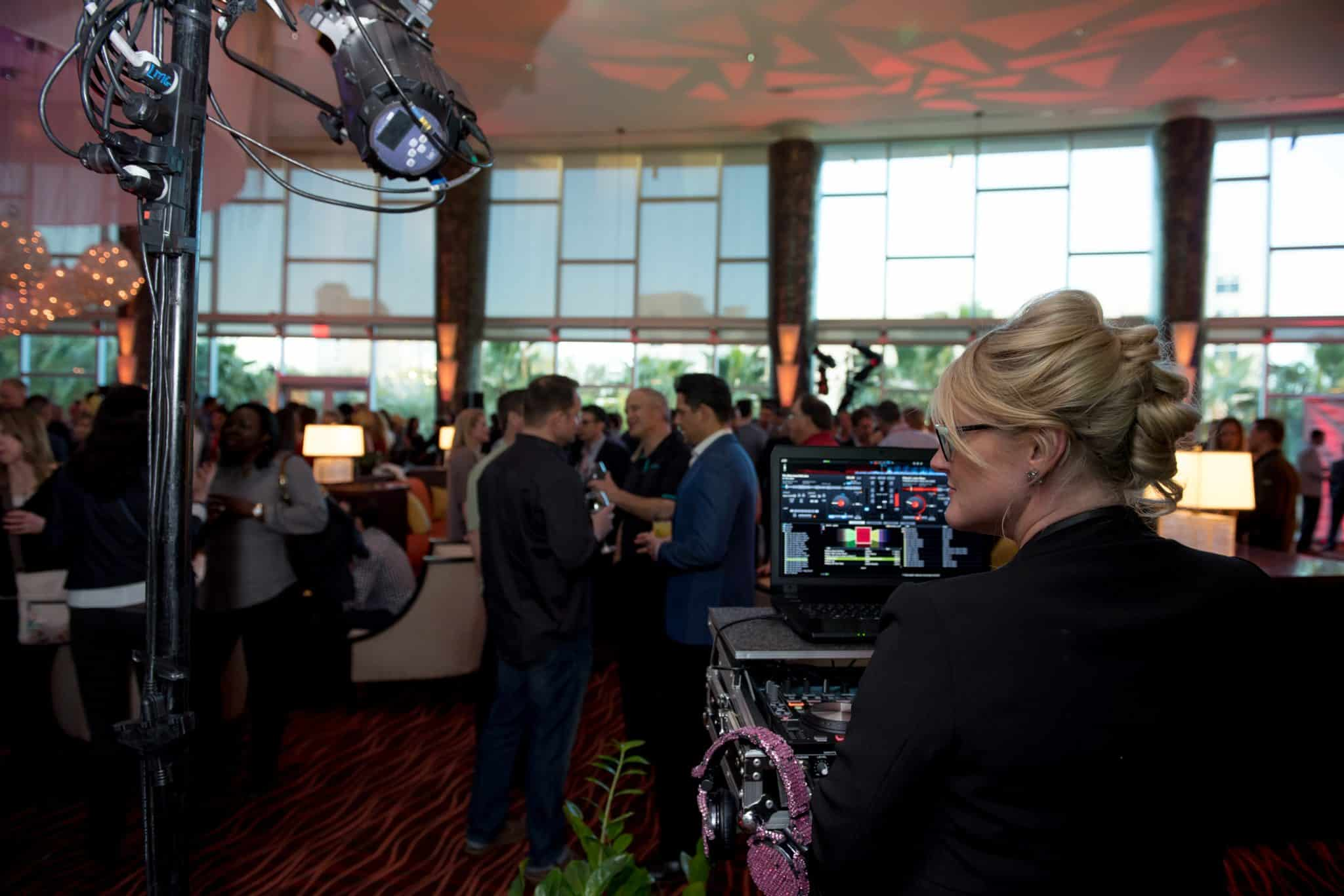Corporate Welcome Reception | Orlando Conventions | Orlando Wedding DJ Kristin