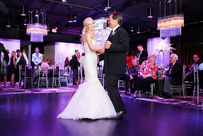 Modern Trendy Wedding at the Mezz