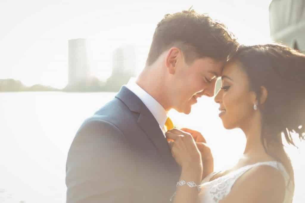 Bride & Groom Wedding at Orlando Wedding Venue At Paradise Cove