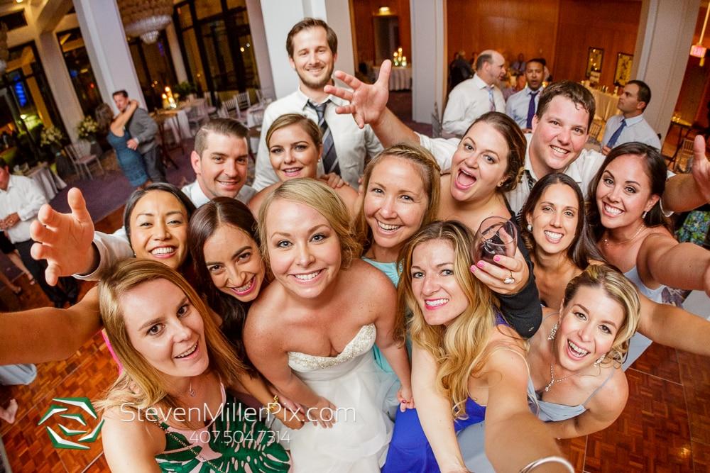 Taking a selfie at Orlando Wedding Venue Hyatt Regency Grand Cypress