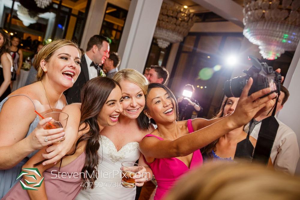 Bride and groom at Orlando Wedding Venue Hyatt Regency Grand Cypress