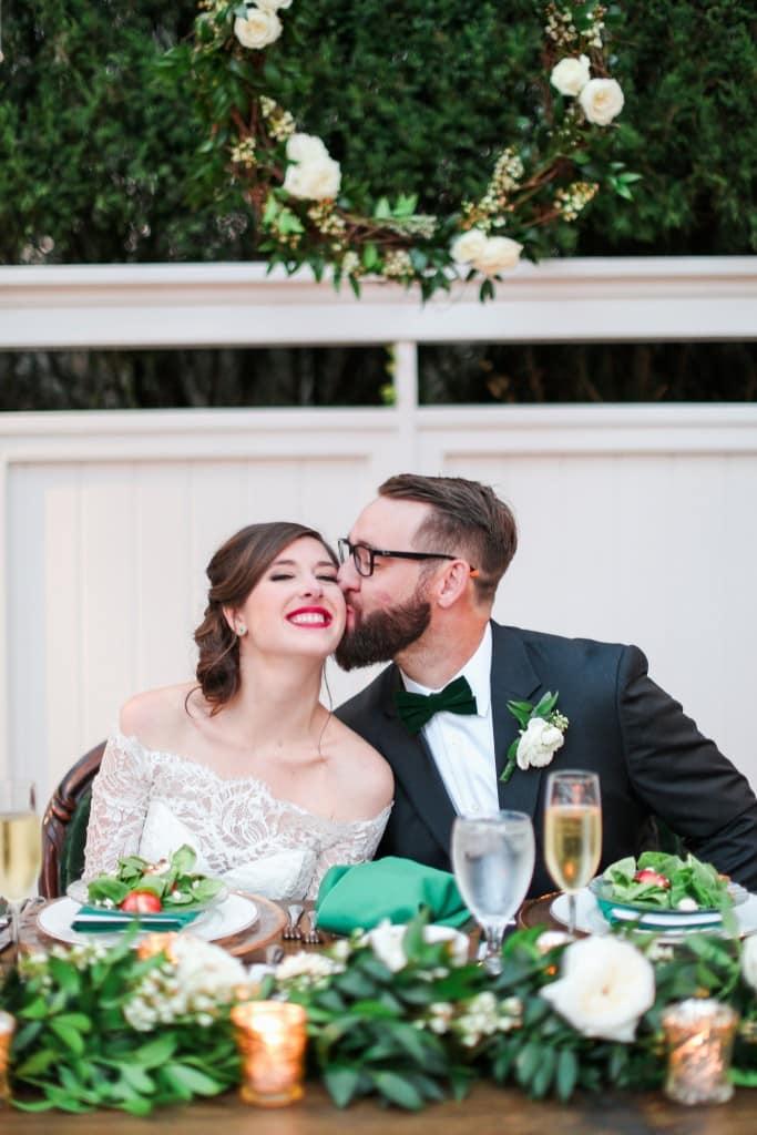 Bride & Groom at Orlando Wedding Venue Cypress Grove Estate House