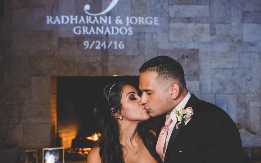 Wedding Monogram – Timacuan Country Club Wedding