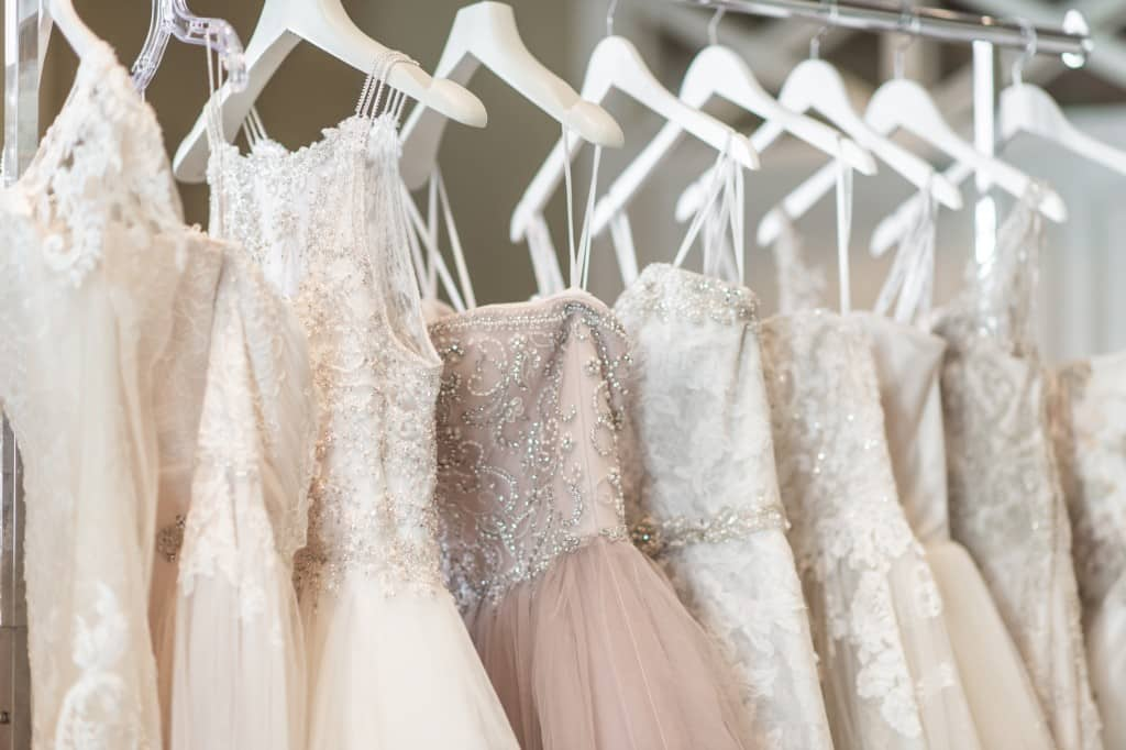 Wedding Dresses. Wedding dresses with beaded embroidery.