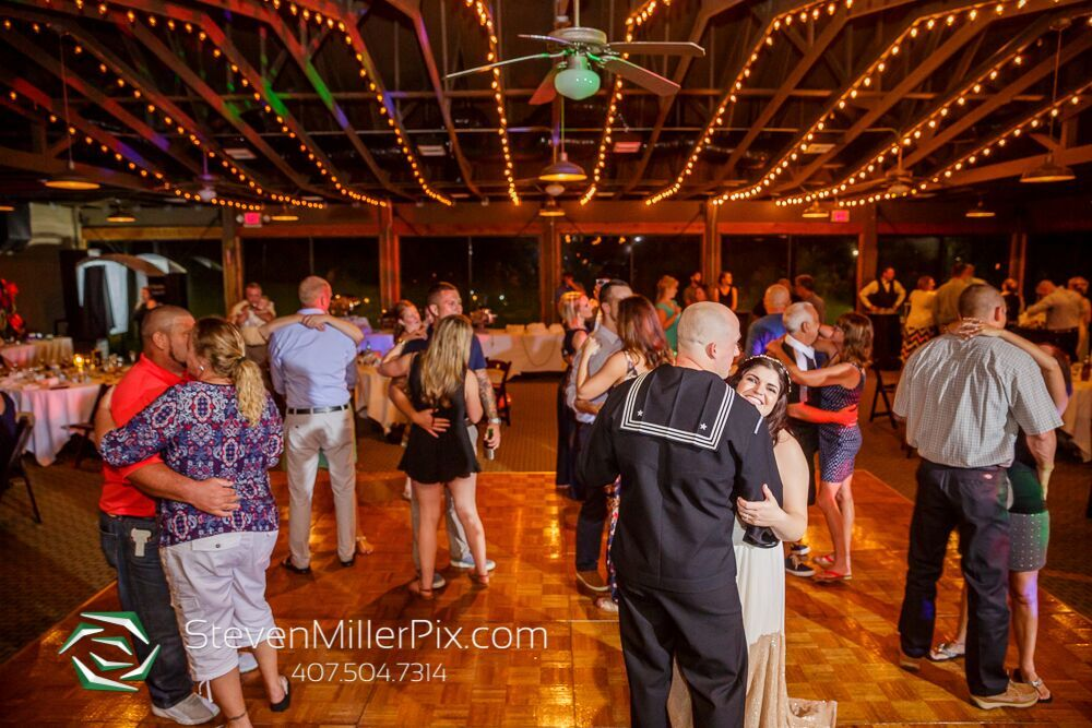steven miller photography Mission Inn wedding. Couples dancing at wedding. Bride and groom dancing. Wooden dance floor.