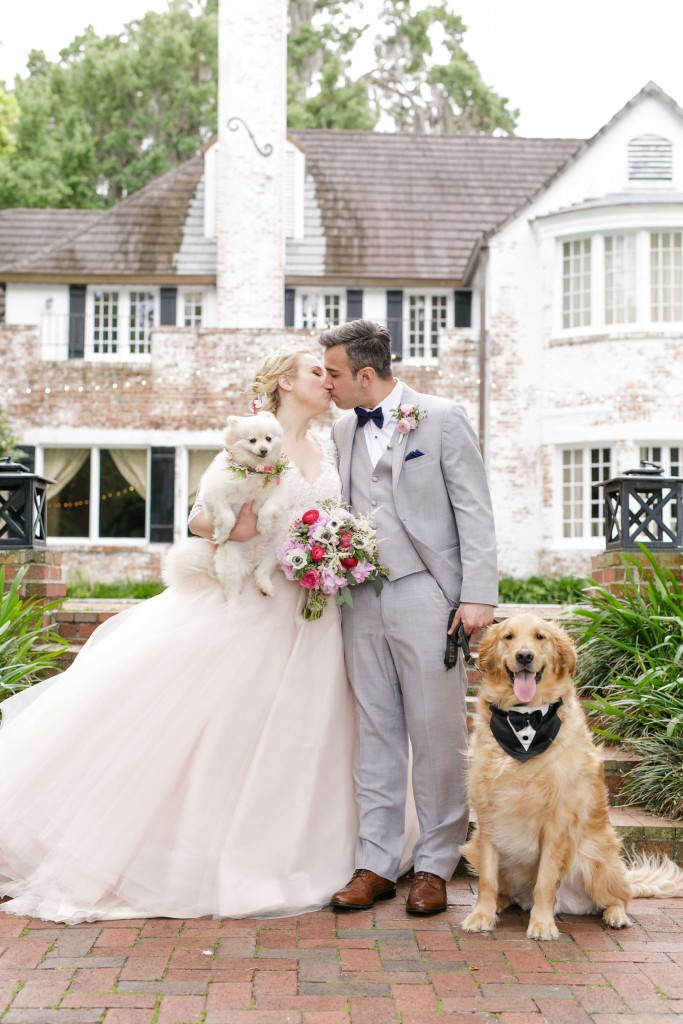 Peachtree house orlando wedding - 2 dogs
