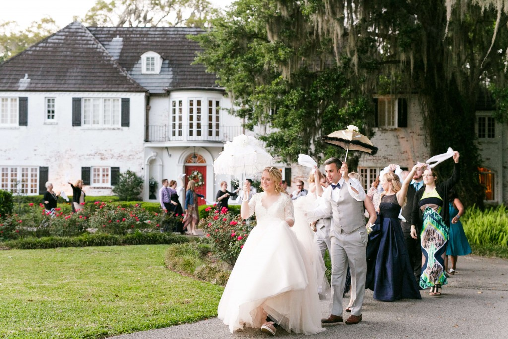 PeachTree House Orlando Wedding - 2 Dogs & A Second Line Parade - Orlando Wedding DJ