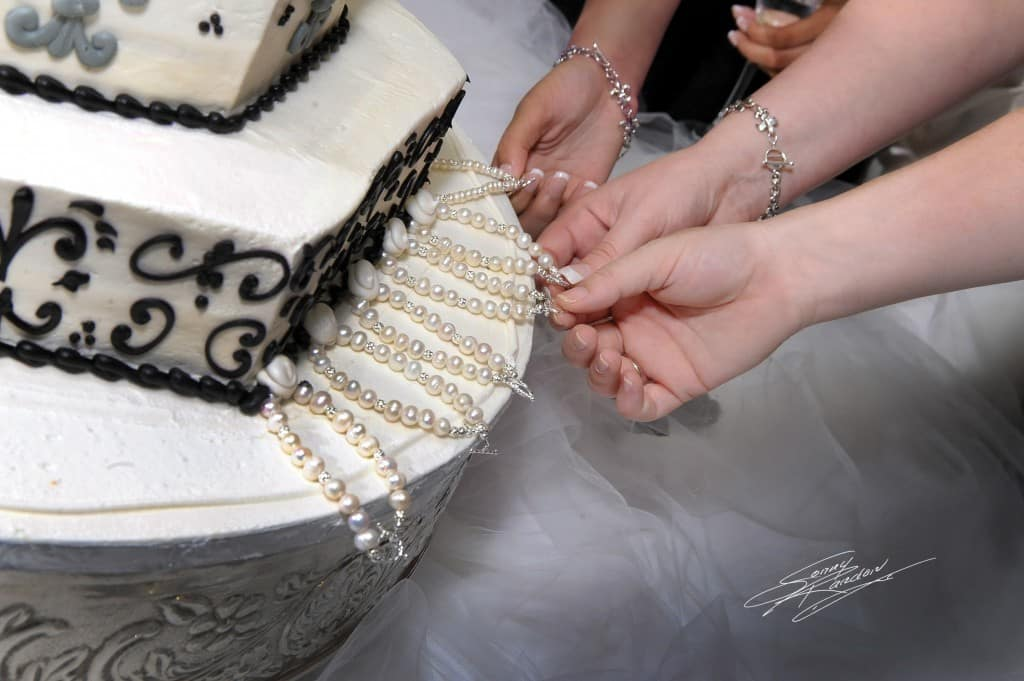 meaning of wedding cake pulls cake pull wedding tradition 17245