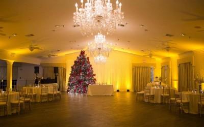 Highland Manor Wedding – Amber Uplighting