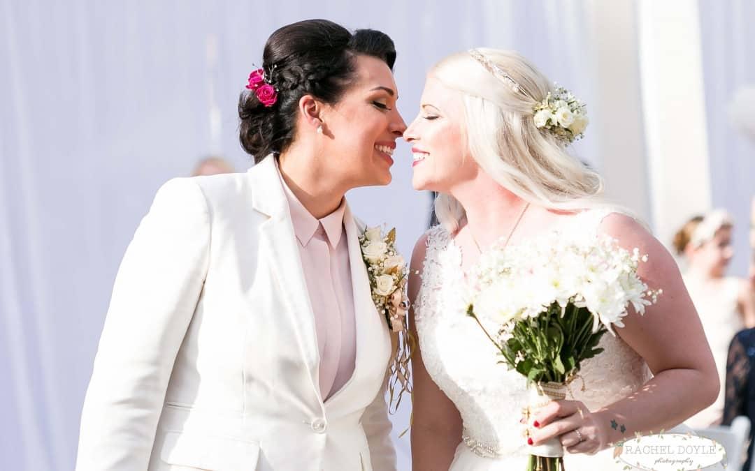 Same Sex Orlando Wedding – The Veranda at Thornton Park
