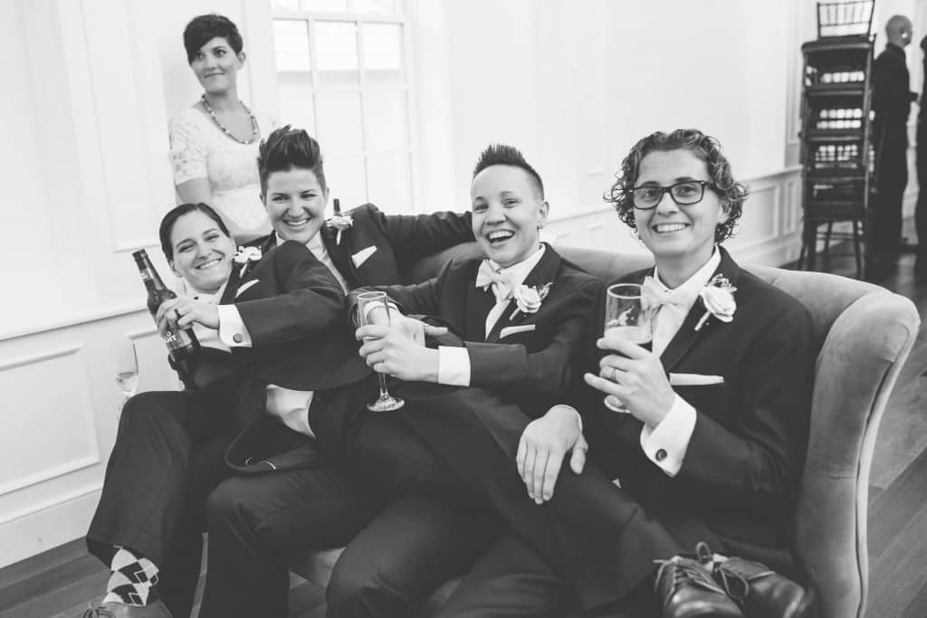 same sex wedding - The White Room St Augustine