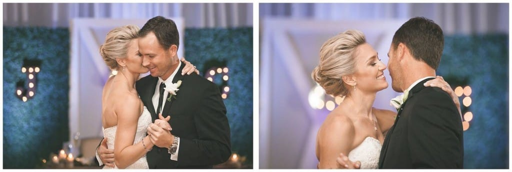 Alfond Inn wedding couples first dance
