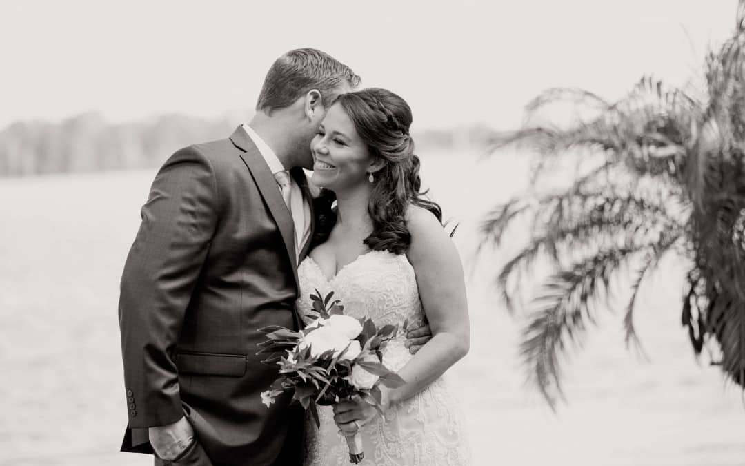 Tying the Knot at Paradise Cove – Amber Uplighting