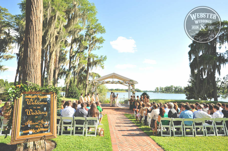 wedding ceremony songs - wedding at cypress grove estate house