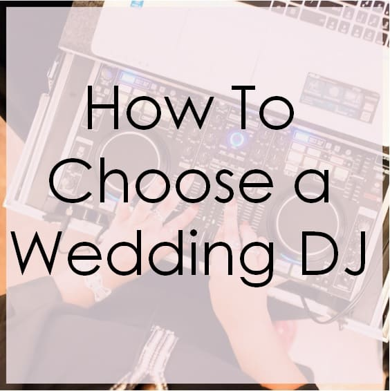 5 Tips For How To Choose A Wedding Dj