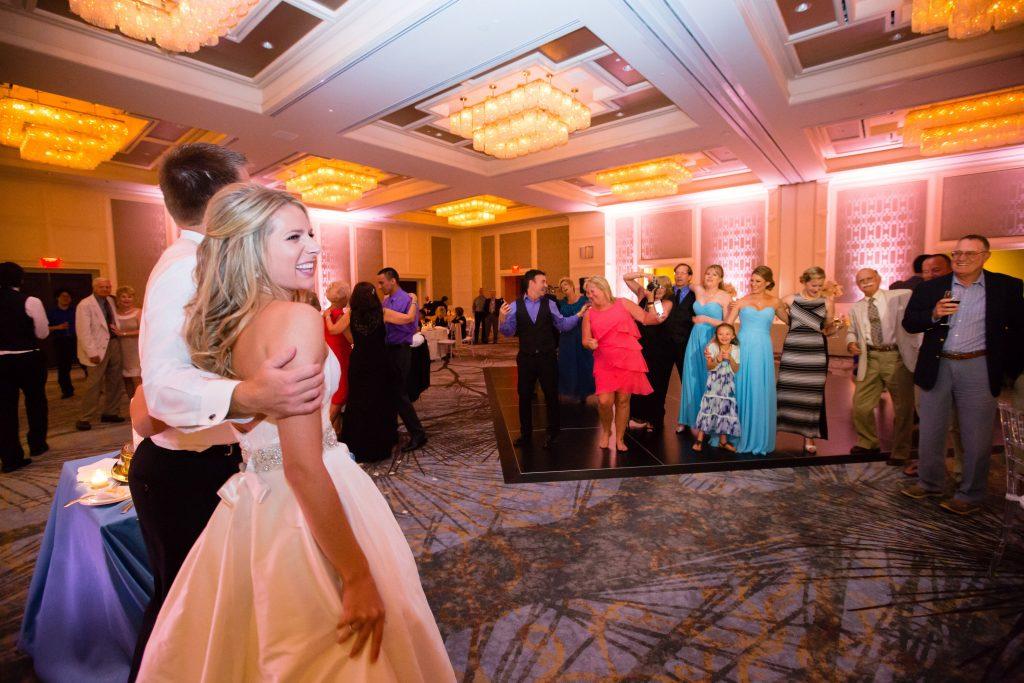 Four Seasons wedding reception dancing area