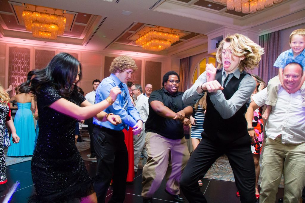 Four Seasons wedding reception dancing