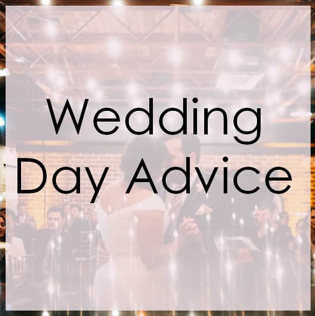 Wedding Day Advice – Hear the Music Before the Song is Over