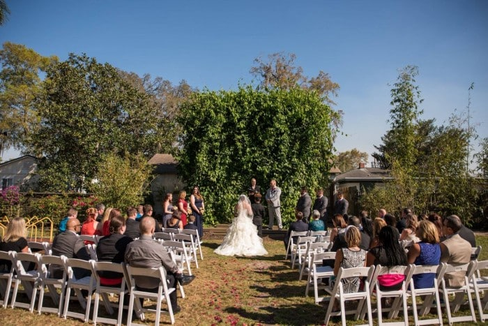 Wedding DJ Entertainment at The Acre Orlando ceremony