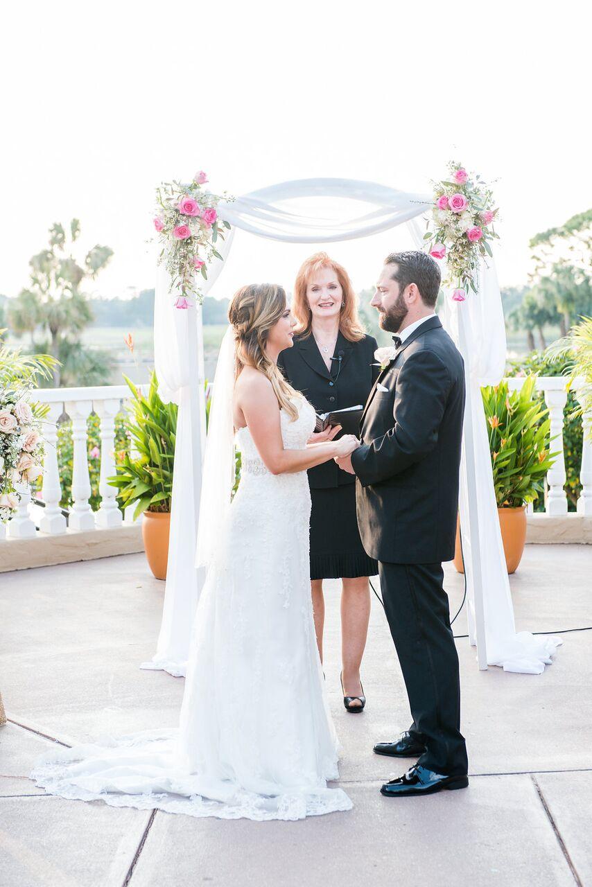 Orlando Wedding DJ Services at Mission Inn Resort wedding ceremony