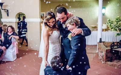 Snow Falls at Mission Inn – Orlando Wedding DJ Services