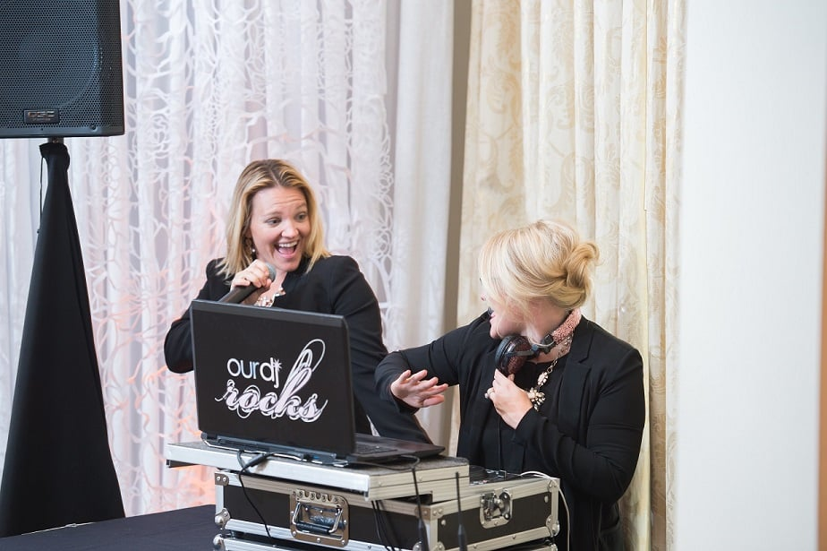 special event dj service - gaby and kristin