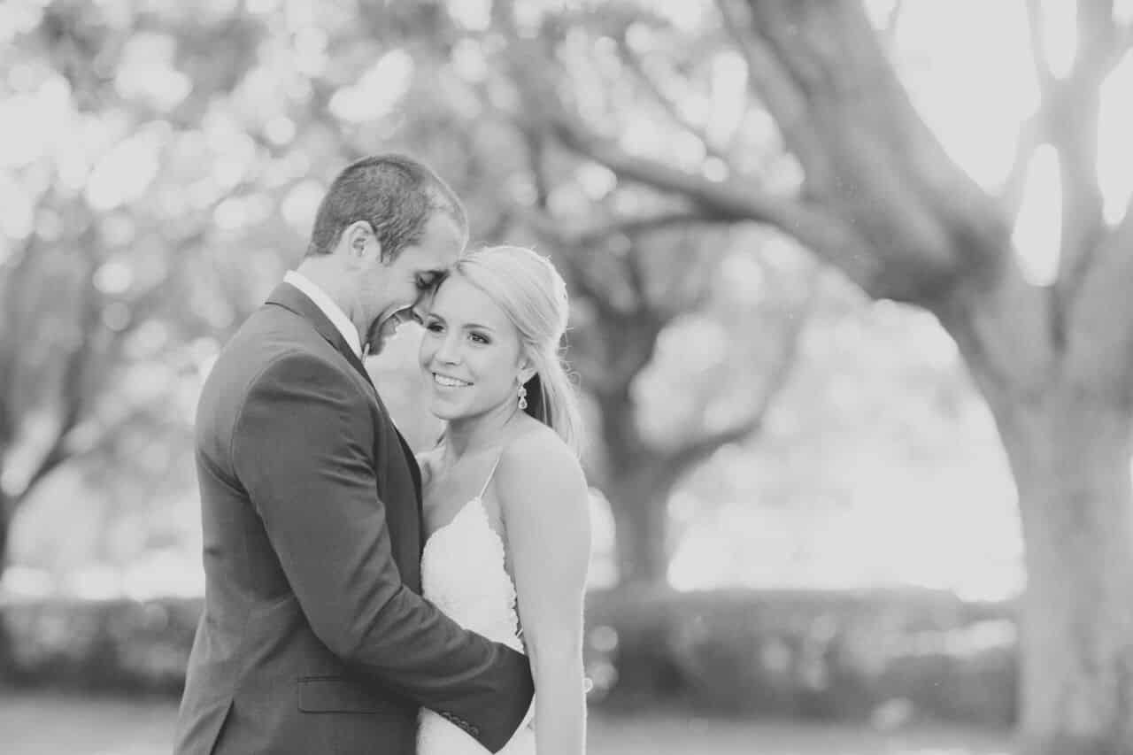 wedding dj at Cypress Grove Estate House wedding bride and groom