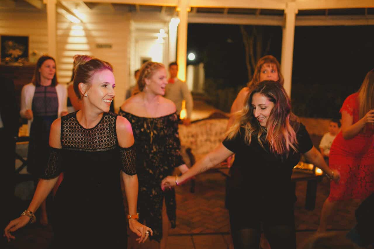 wedding dj at Cypress Grove Estate House wedding reception dancing