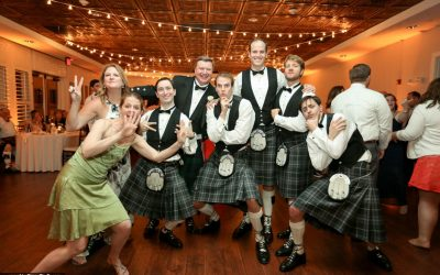 Female Wedding DJ at Scottish Inspired Wedding