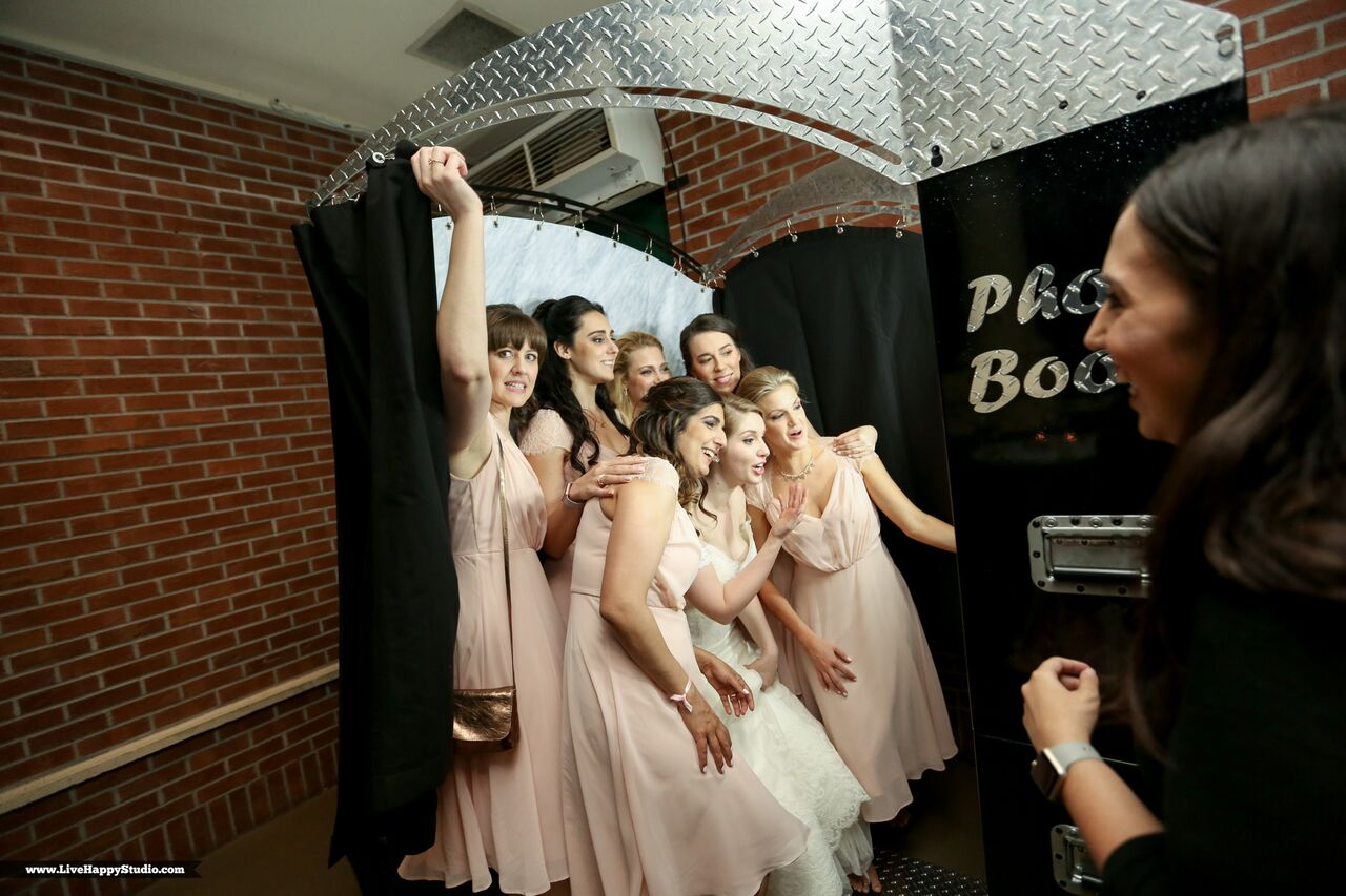 emale wedding dj at scottish inspired wedding at The Golden Bear Club wedding photo booth