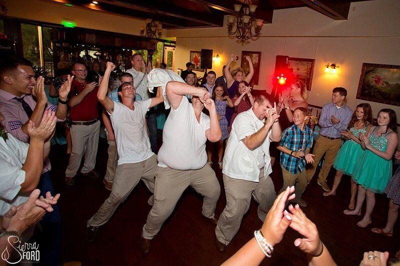 wedding dj service at Tavares Pavilion on the Lake wedding reception dancing