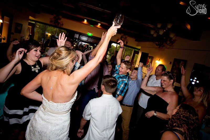 wedding dj service at Tavares Pavilion on the Lake wedding dancing at reception