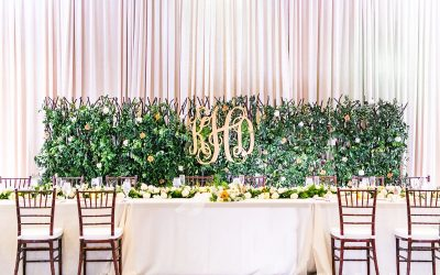 Stunning White Uplighting Wedding at Alfond Inn