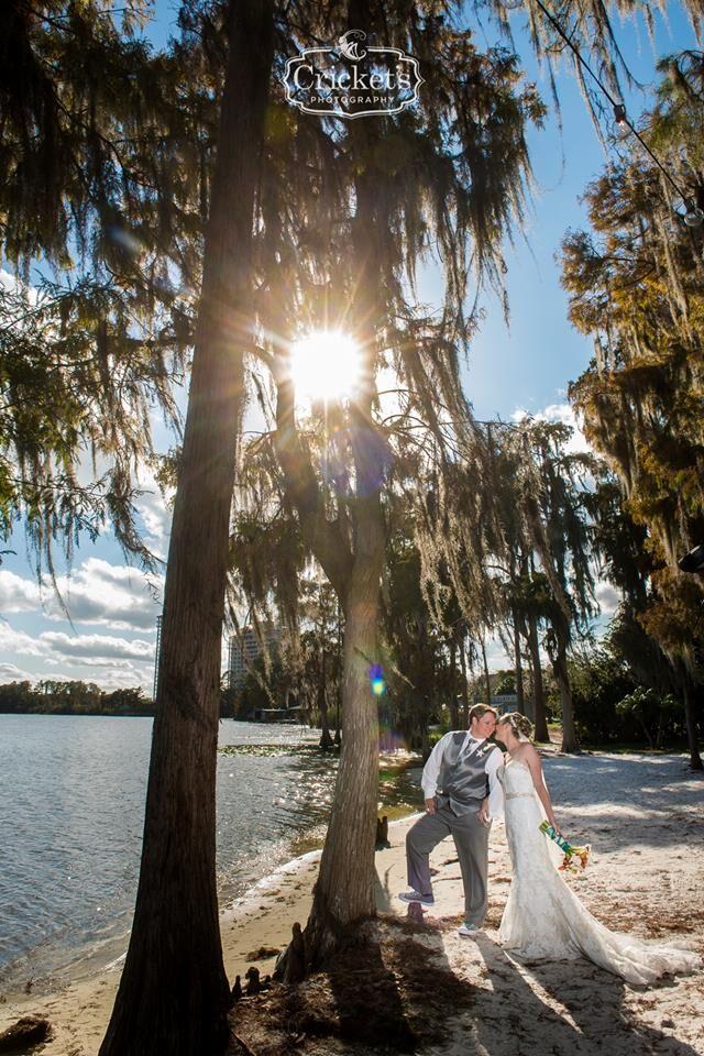 vendors who rock Crickets photography two brides outdoor shot