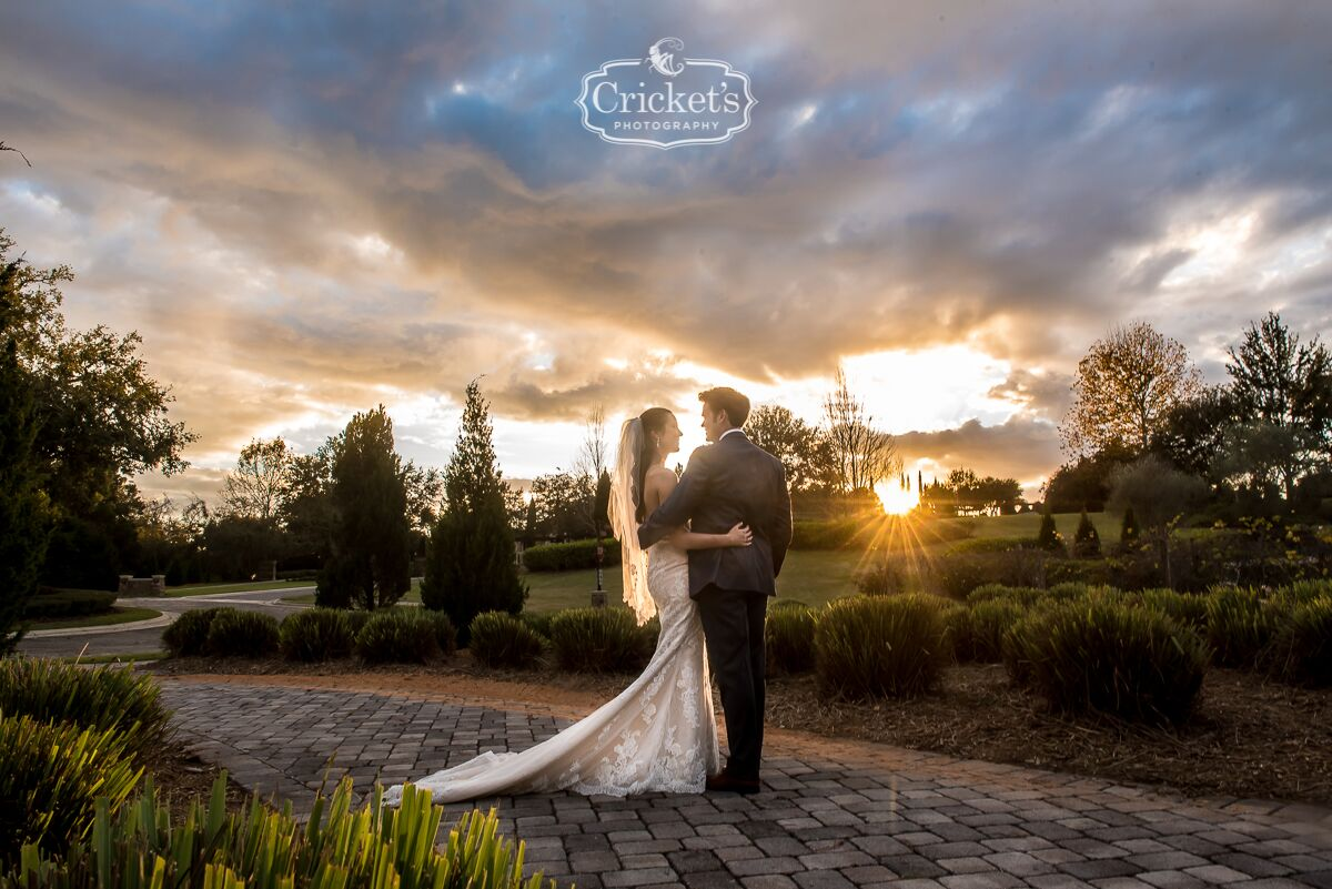 vendors who rock Crickets photography bride and groom outdoor shot