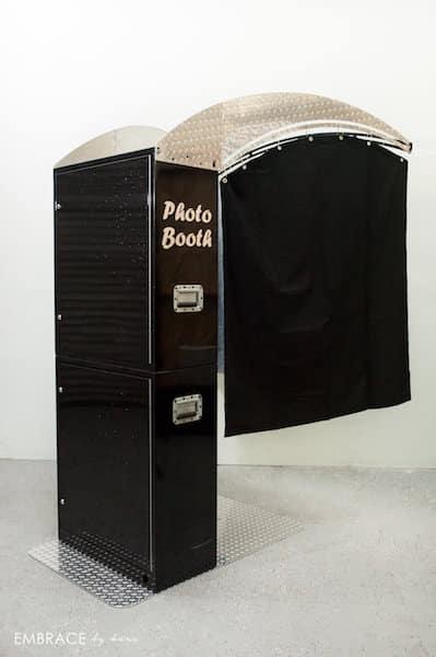 Black Printz Style Booth