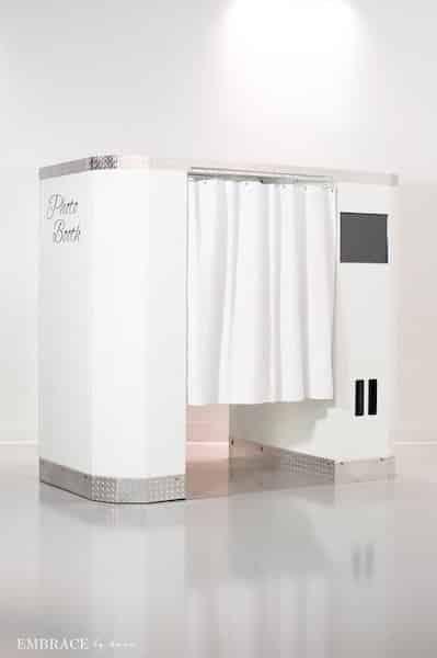 White Elite Booth Style