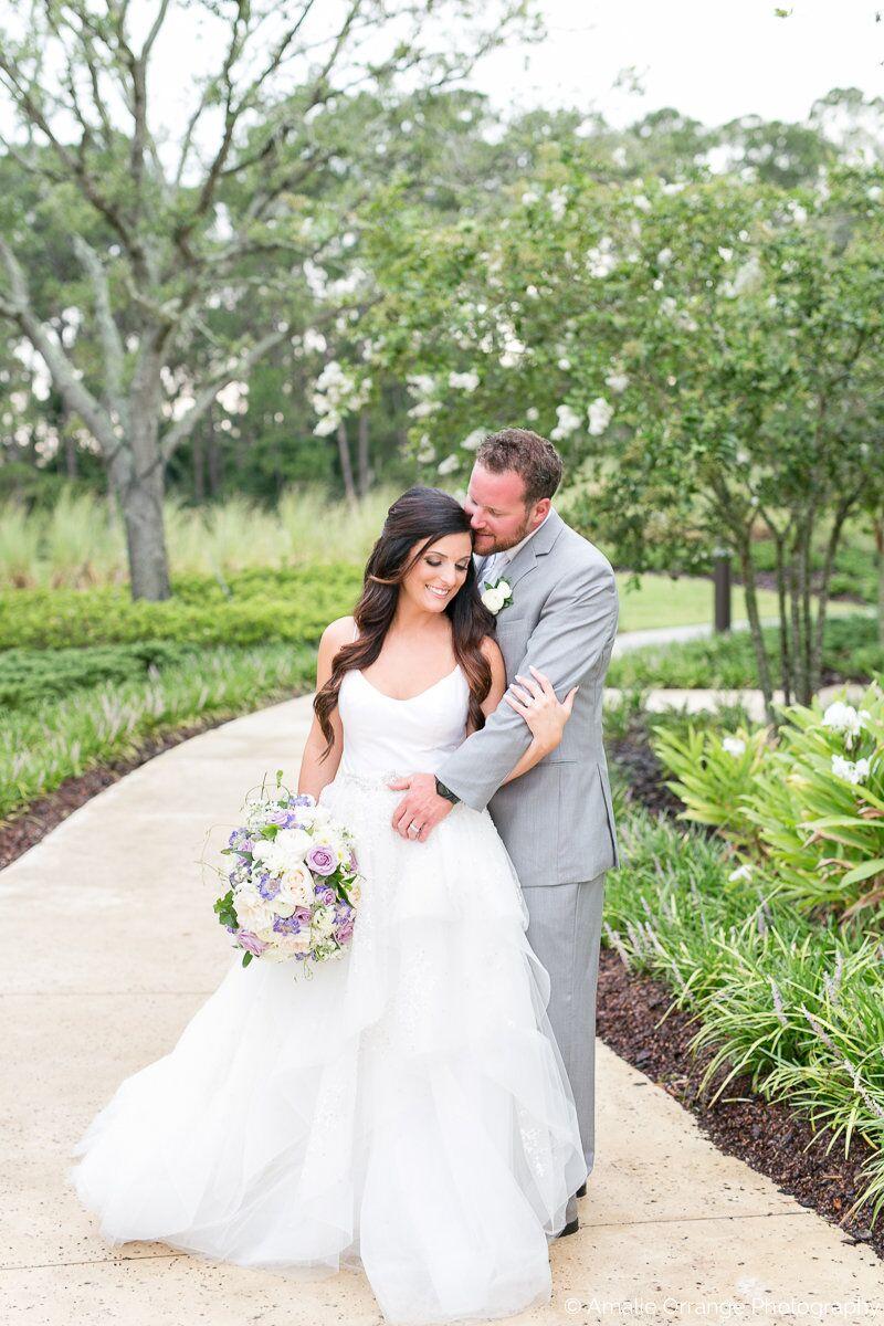 Wedding DJ in Orlando at Four Seasons Resort bride and groom